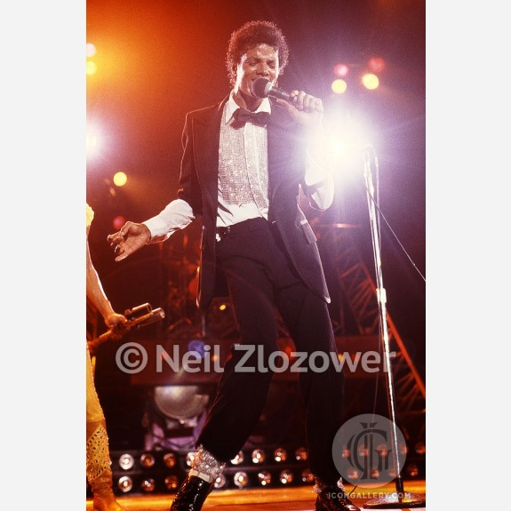 Michael Jackson by Neil Zlozower