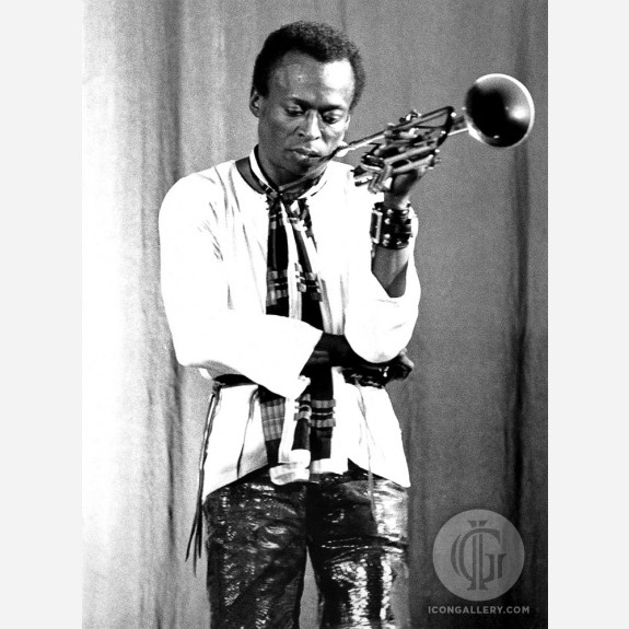 Miles Davis by Christian Rose