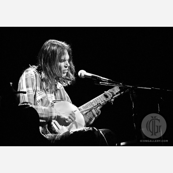 Neil Young by Steve Emberton