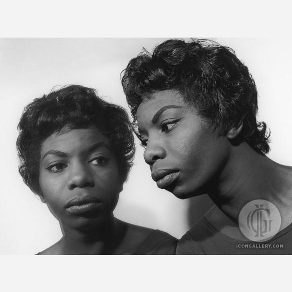 Nina Simone by Herb Snitzer