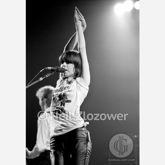 Chrissie Hynde of the Pretenders by Neil Zlozower