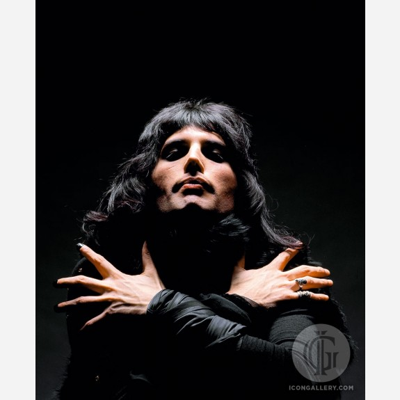 Freddie Mercury of Queen by Mick Rock