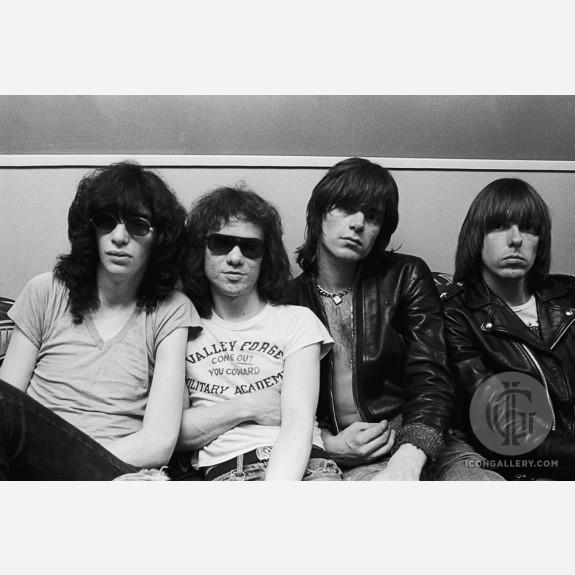 The Ramones by Allan Tannenbaum