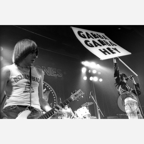 The Ramones by Christian Rose
