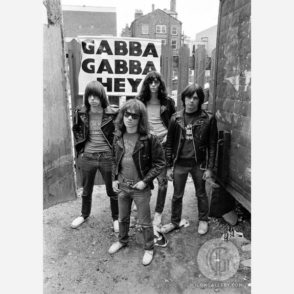 The Ramones by Ian Dickson
