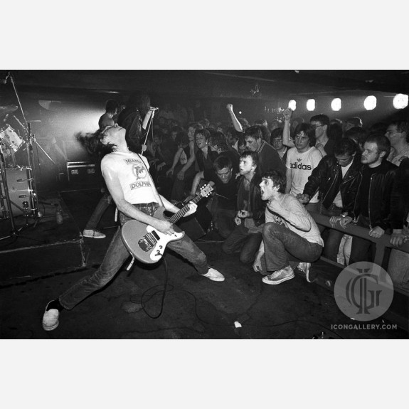 Johnny Ramone of the Ramones by Ian Dickson