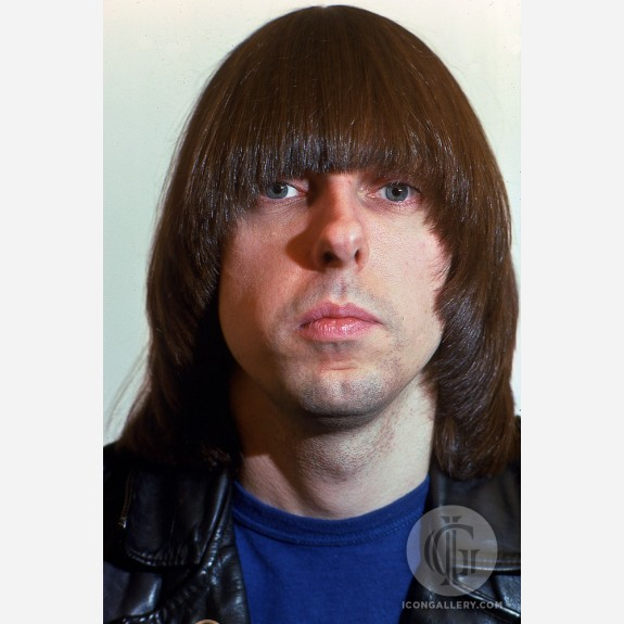 Johnny Ramone of the Ramones by Mitchell Kearney