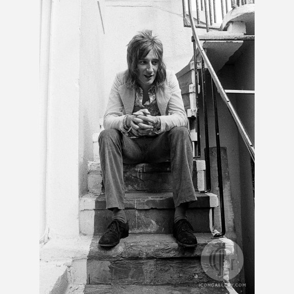 Rod Stewart by Barrie Wentzell