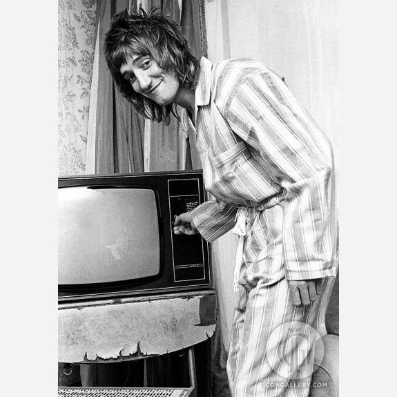 Rod Stewart by Ian Dickson