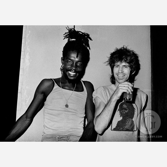 Keith Richards & Peter Tosh by Adrian Boot
