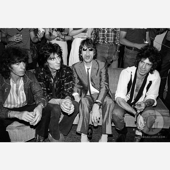 The Rolling Stones by Allan Tannenbaum