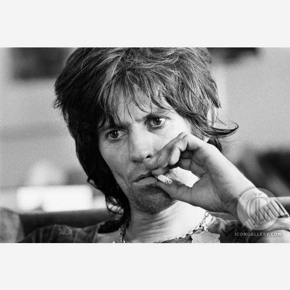 Keith Richards of the Rolling Stones by Gijsbert Hanekroot