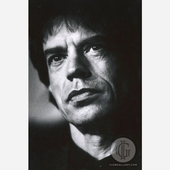 Mick Jagger of the Rolling Stones by Kevin Cummins