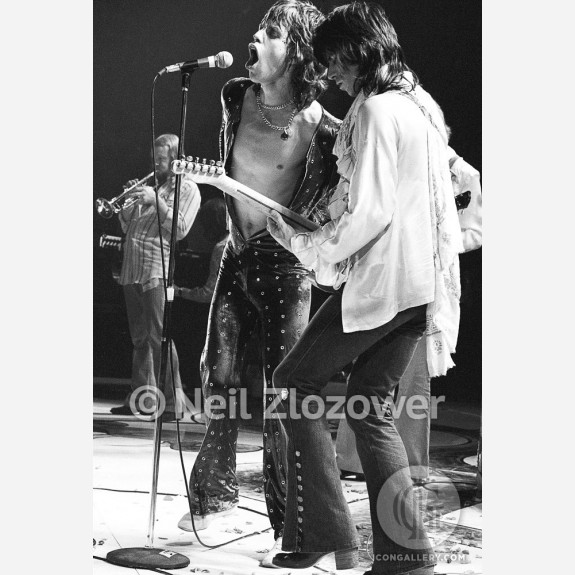 The Rolling Stones by Neil Zlozower