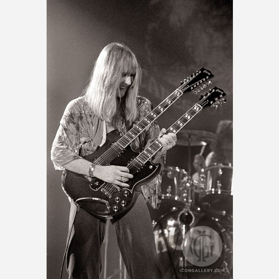 Alex Lifeson of Rush by Al Rendon