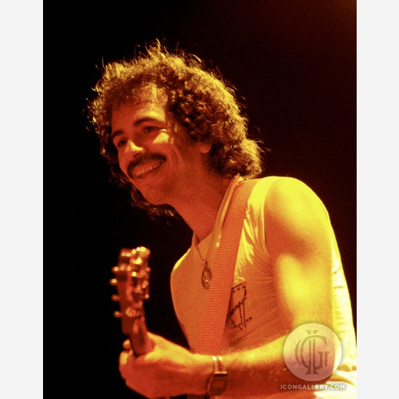 Carlos Santana by Al Rendon