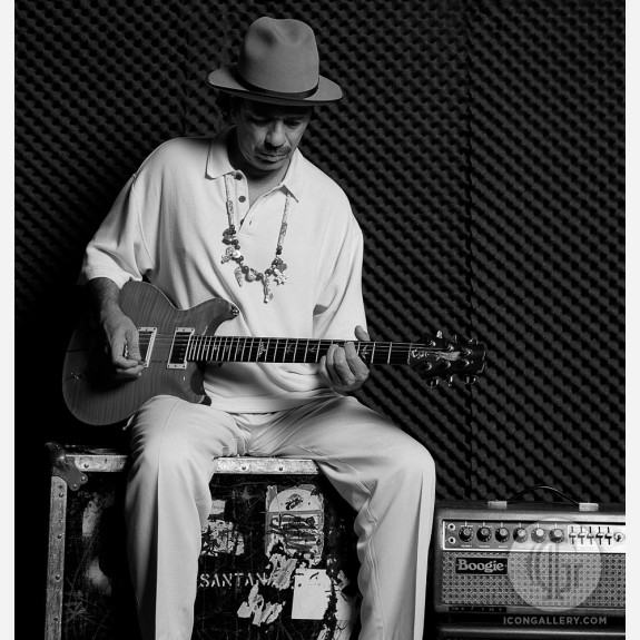 Carlos Santana by Andy Freeberg