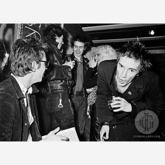 Sex Pistols by Steve Emberton