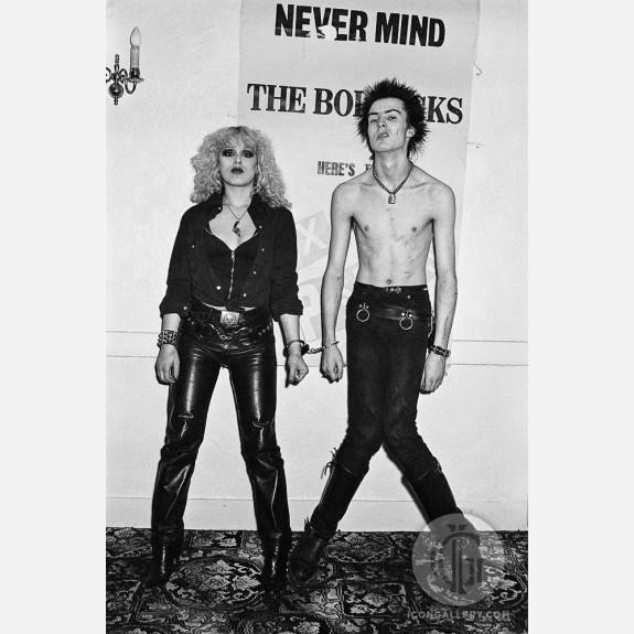 Sid Vicious & Nancy Spungen by Steve Emberton