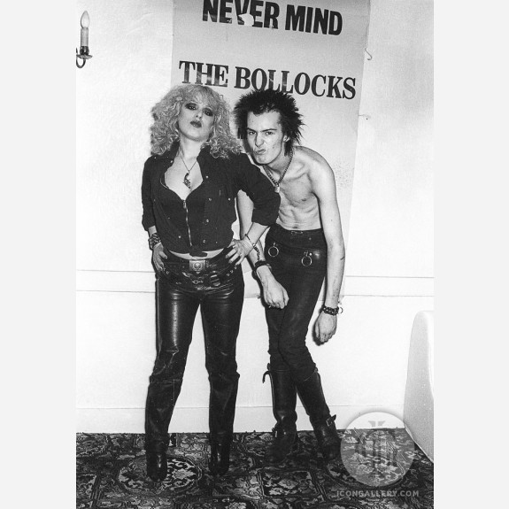 Sid Vicious & Nancy Spungen by Steve Emberton
