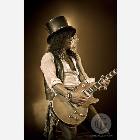 Slash of Guns N' Roses by Jérôme Brunet