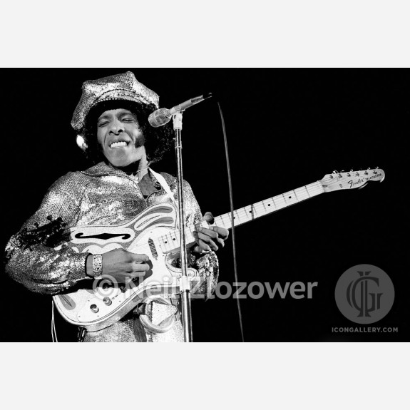 Sly Stone of Sly & the Family Stone by Neil Zlozower
