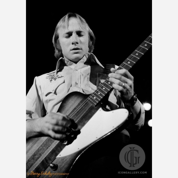 Stephen Stills of Crosby, Stills, Nash & Young by Barry Schultz