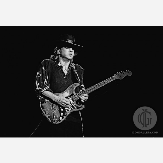 Stevie Ray Vaughan by Ken Settle
