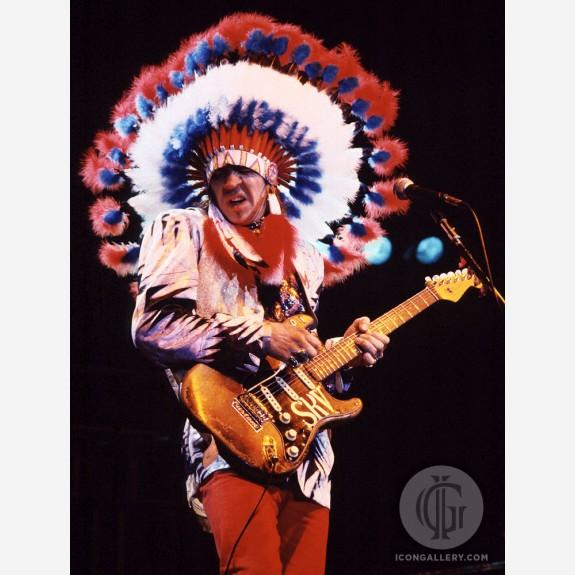 Stevie Ray Vaughan by Al Rendon
