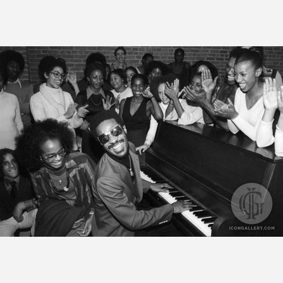 Stevie Wonder by Allan Tannenbaum