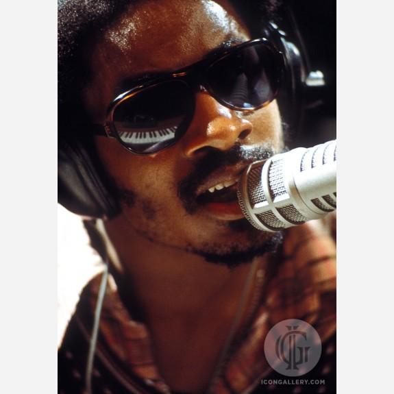 Stevie Wonder by Jim Britt