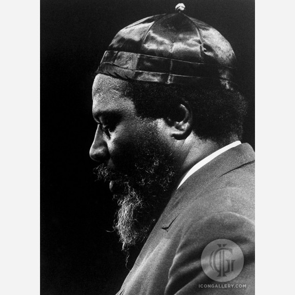 Thelonious Monk by Christian Rose
