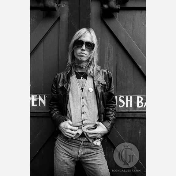 Tom Petty by Adrian Boot
