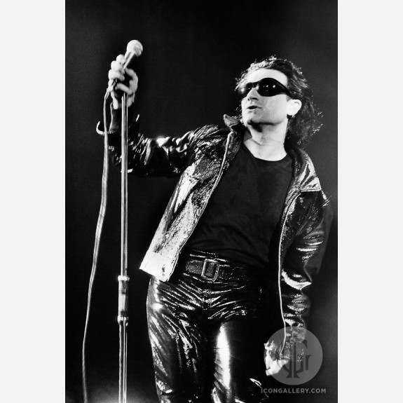 Bono of U2 by Christian Rose