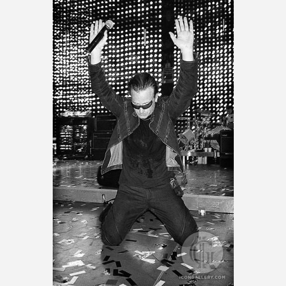 Bono of U2 by Jérôme Brunet