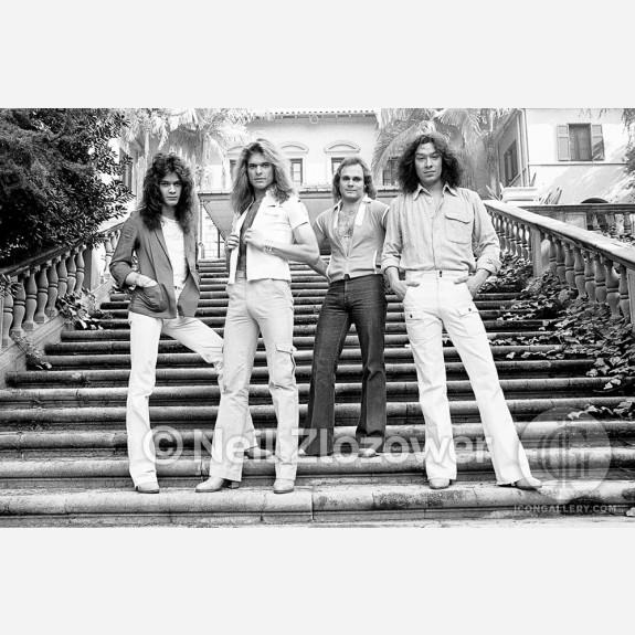 Van Halen by Neil Zlozower