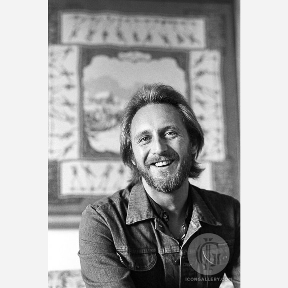 John Entwistle of the Who by Ebet Roberts
