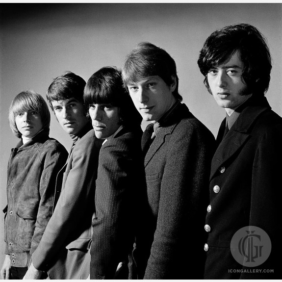 The Yardbirds by Gered Mankowitz
