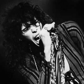 Steve Tyler of Aerosmith by Barry Schultz