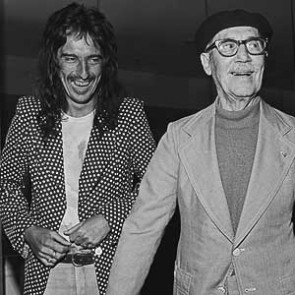 Alice Cooper with Groucho Marx by James Fortune