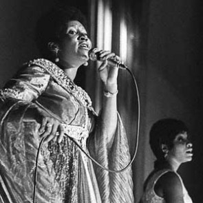 Aretha Franklin by Barrie Wentzell