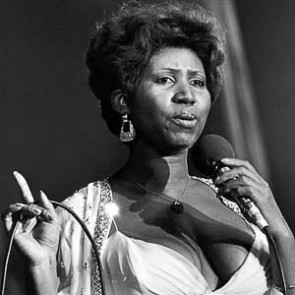 Aretha Franklin by Christian Rose