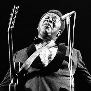 B.B. King by Ian Dickson