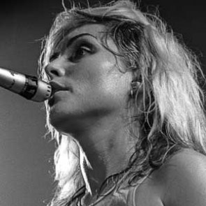 Debbie Harry of Blondie by Christian Rose