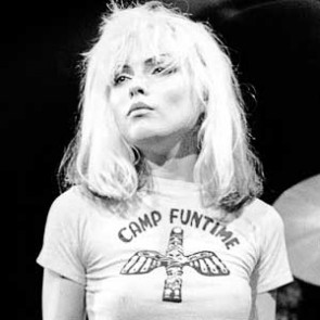 Debbie Harry of Blondie by Kevin Cummins