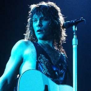 Jon Bon Jovi of Bon Jovi by Ebet Roberts