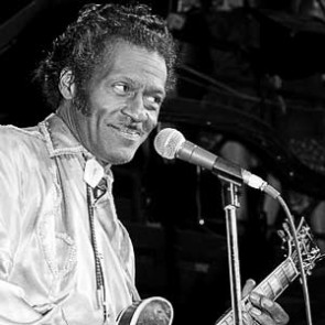 Chuck Berry by Ebet Roberts