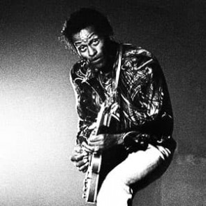 Chuck Berry by Gijsbert Hanekroot