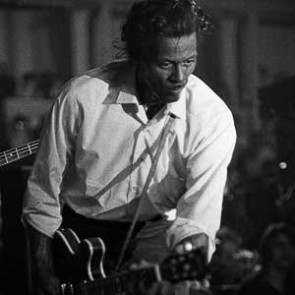 Chuck Berry by Peter Sanders