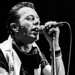 Joe Strummer of the Clash by Christian Rose
